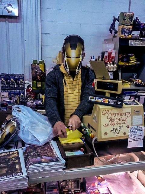 Marvelous Marvel Parties at White Cap Comics!